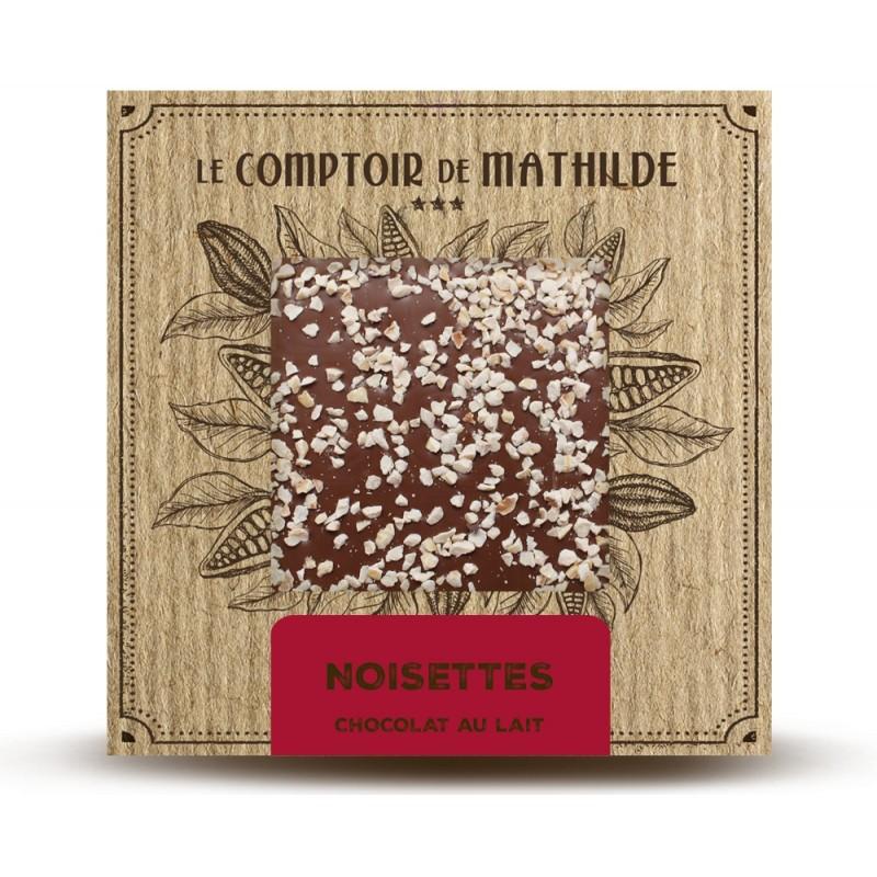 Chocolate con leche con avellanas caramelizadas Le Comptoir de Mathilde