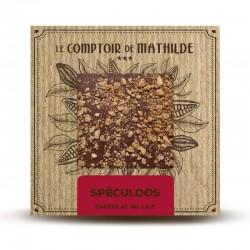 Chocolate con leche con spéculoos Le Comptoir de Mathilde