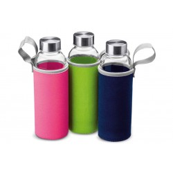 Botella termo vidrio 420 ml I
