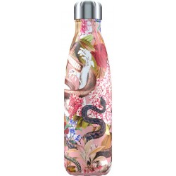 Botella termo Tropical Serpiente 500 ml Chilly´s
