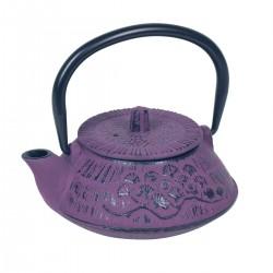 Tetera hierro fundido violeta 400 ml I