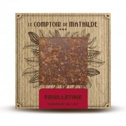 Chocolate con leche y galleta desmenuzada Le Comptoir de Mathilde
