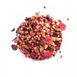 Infusión mezcla de frutas arándanos vainilla