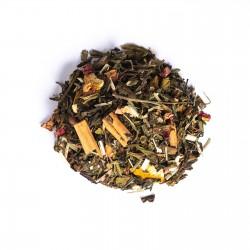 Mezcla de tés verde y blanco noches de San Juan