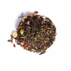Mezcla de tés verde y blanco rizos de ángel