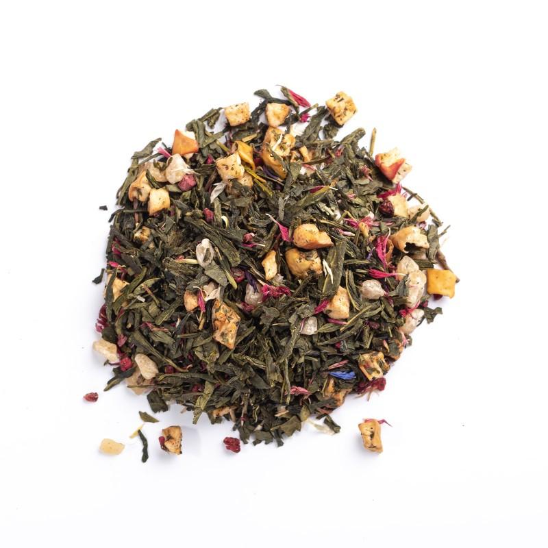 Té verde frambuesa