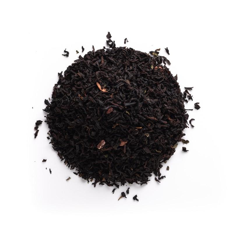 Té negro mousse chocomenta