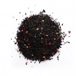 Té negro mazapán dulce