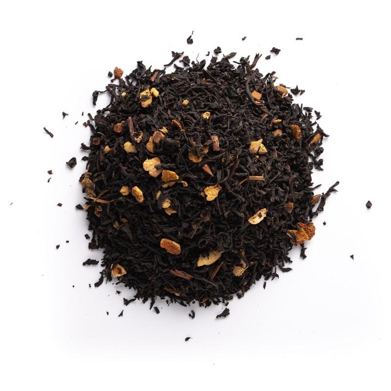 Té negro naranja y jengibre