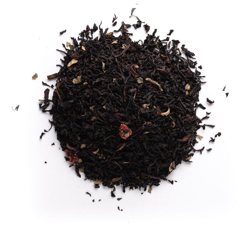 Té negro fresa y nata