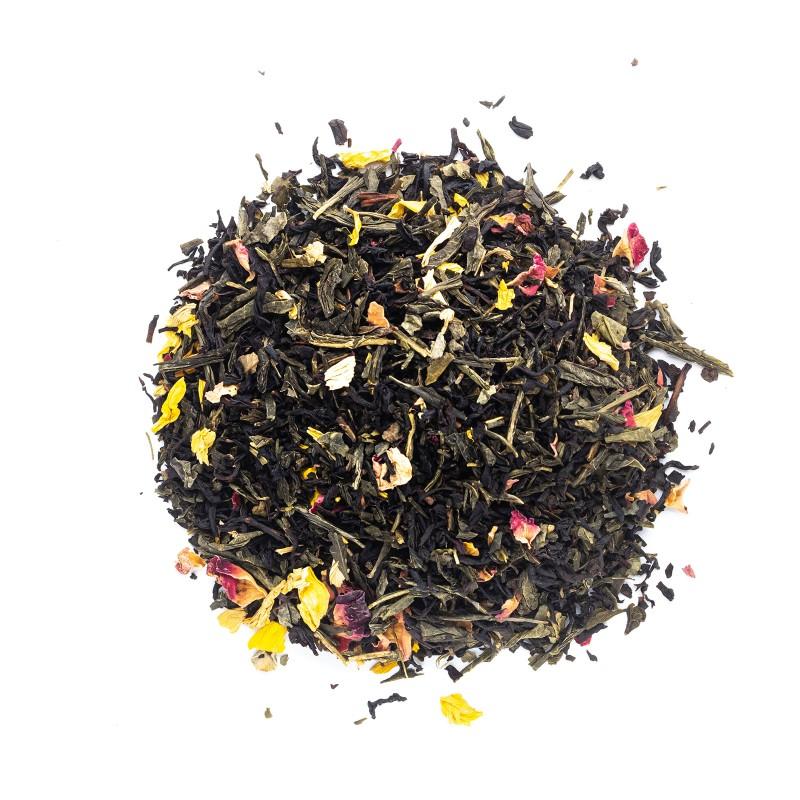 Mezcla de tés verde y negro mil y una noches