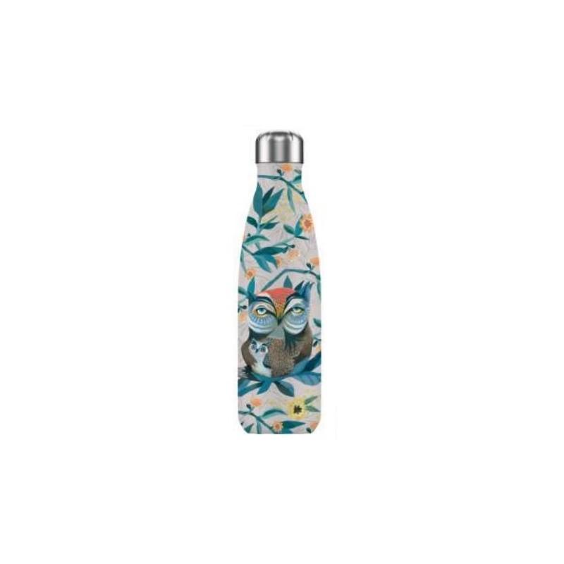 Botella termo Búho 500 ml