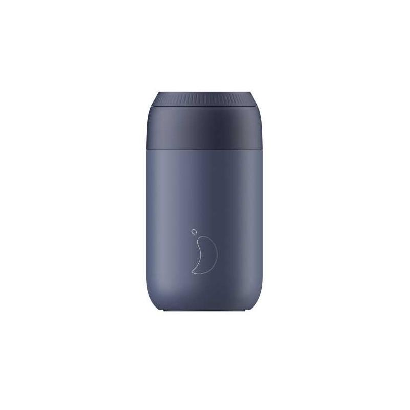 Taza termo Azul Ballena Series 2 340 ml Chilly´s