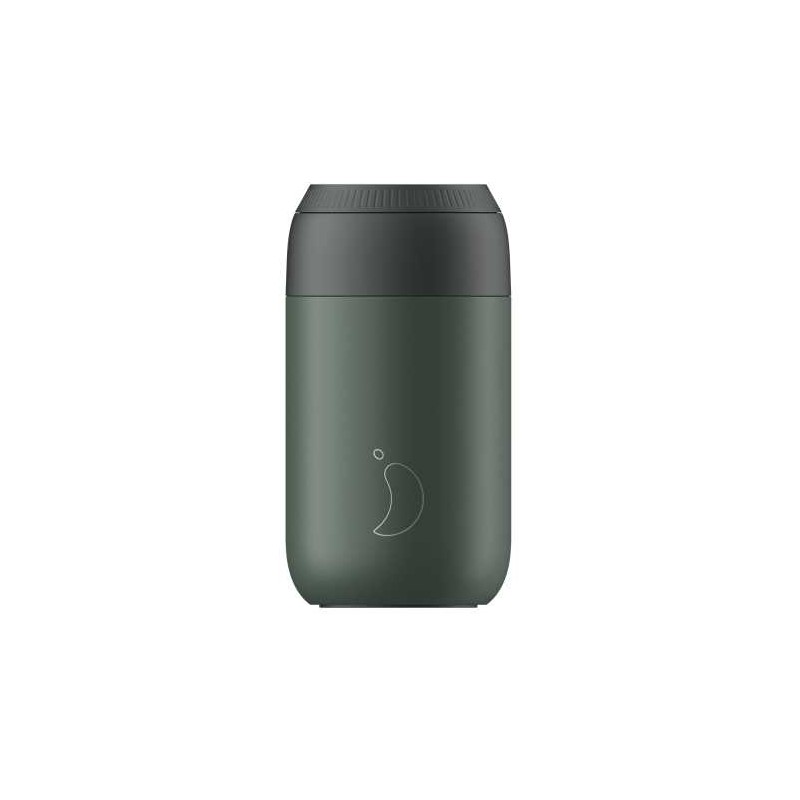 Taza termo Verde Pino Series 2 340 ml Chilly´s