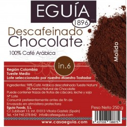 Café de chocolate descafeinado
