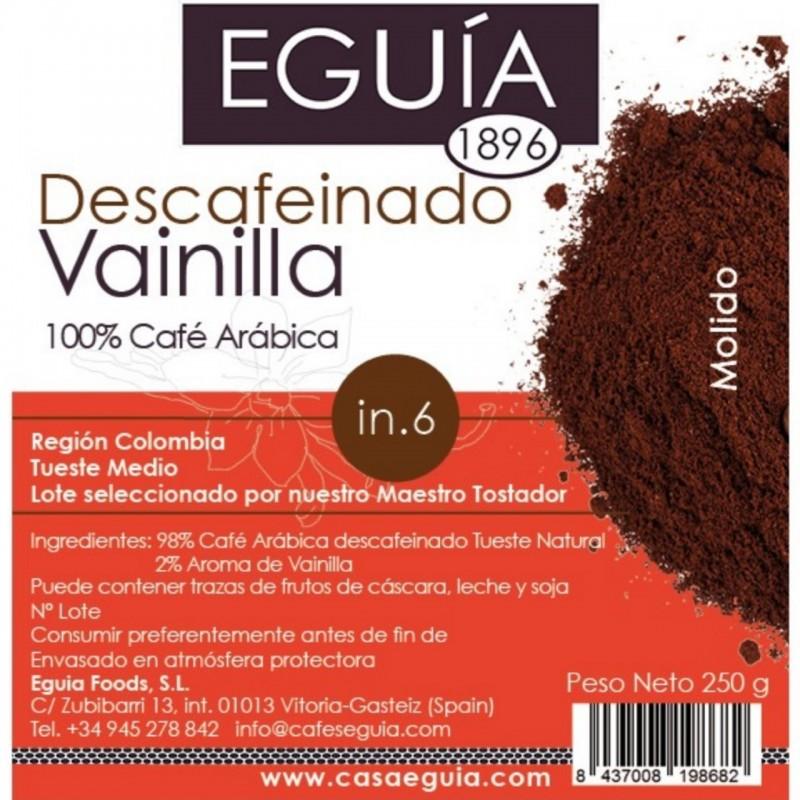 Café de vainilla descafeinado